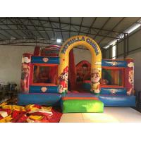 Quality Inflatable patrol paw themed fun city 2018 new inflatable patrol paw fun park jump with slide on sale for sale