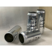 Quality Custom 355ml Aluminum Beverage Cans With Color Lid for sale