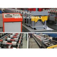 Quality Auto Cutting Pressing Roofing Ridge Cap Forming Machine YX312 BV / SGS for sale