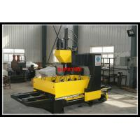 CJ series Gantry type CNC plate drilling machine with double worktable for sale