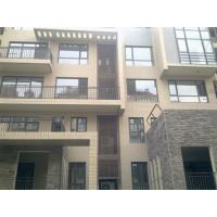 China Cedar / Coffee Recyclable Exterior Cladding Panels For Wood Overall Balcony on sale