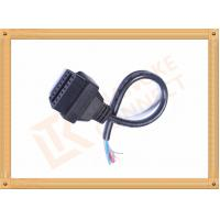 Quality Black 16 Pin Obd Extension Cable Male to Female Cable CK-MF16D00F for sale