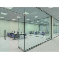 China Soundproof Glass Partition Walls Laminated For Shopping Mall on sale