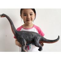 Quality Large Scale Simulation Soft Rubber Dinosaur Toys / Animal Model Toys For Kids for sale