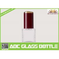 Buy High quality 18ml clear glass bottle with screw cap for nail polish at wholesale prices