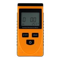 Quality GM3110 Anti-static Data Handheld Accurate  Surface Resistance Meter Earth Resistance Meter LCD Display Ohm Meter for sale