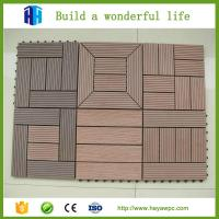 China HEYA superior quality cheap portable wood composite decking tiles for sale on sale