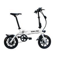 China Safe Automative 14 Inch Electric Bike Aluminum Alloy Long Life Span on sale
