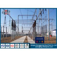 China Galvanized Electric Substation Steel Structures for Power Transformer Substation Industry on sale