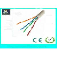 Quality 100% Copper Cat5e UTP Network Cable Fluke Pass 4 Pairs PVC Jacket For Indoor for sale