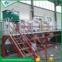 China Small scale sunflower oil refining machine on sale