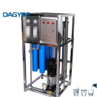 China 1500x800x2000mm 500LPH Seawater Reverse Osmosis System on sale
