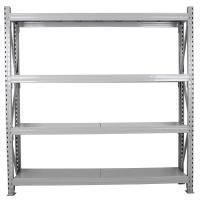 China Standard Model Four Level Capacity 450LBS/ 200kg Per Shelf Medium Duty  Shelving on sale