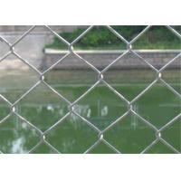 Buy Green Flat Wire Mesh , 2x2 Chain Link Fence Mesh For Building Material at wholesale prices