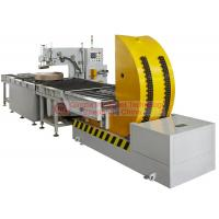 Quality Waterproof Horizontal Coil Wrapping Machine Touch Type Man - Machine Interface Display for sale