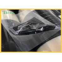 Quality LOGO Printed Transparent PE Protective Film For PET Film / PVC Protection Film for sale
