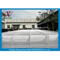 China Galvanized Wire Welded To Wire Mesh Fence Panel With 3D Fold For School on sale