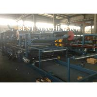 Buy PU Rock Wool EPS Continuous Sandwich Panel Making Machine PLC Control System at wholesale prices