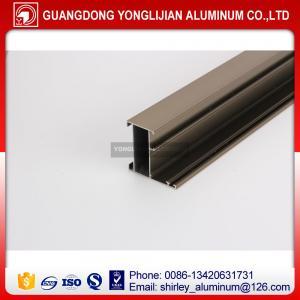 Quality Factory manufacturer Ghana anodized bronze window door aluminium profile, aluminum profile supplier for sale