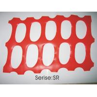Quality PP / PE Orange Snow Fence Construction Safety Netting , Diamond Grid for sale
