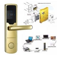 Quality High Security Software Management System RF Hotel Door Lock Electronic Door Latches for sale