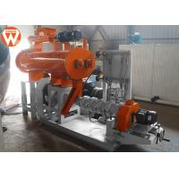 Automatic Floating Fish Feed Extruder Machine 500KG/H 2700*1800*1200mm 1900kg