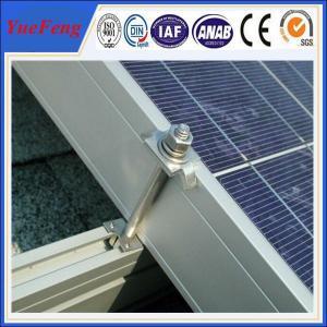 Quality solar panel roof mount kit, home solar panel kit, solar roof mounting aluminum structure for sale