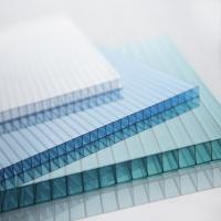 Buy cheap Plastic Polycarbonate PC Hollow Sheet for Green House from wholesalers