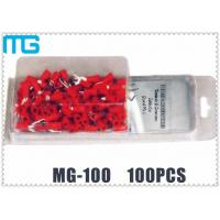 Quality Colorful Customized Terminal Assortment Kit MG-100 1 / 2 Types SV RV HV Terminals 100pcs for sale
