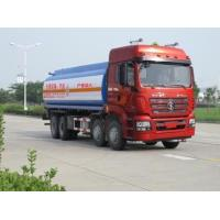 Quality 27.5m3 Volume Used Oil Tanker EURO IV Emission Standard With WP10.290E40 Engine for sale