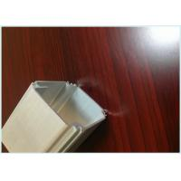 Quality Silvery Anodized Extruded Aluminum Shapes Profiles For  Industry Aluminum Extrusion Parts for sale