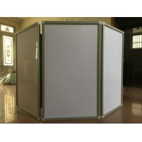 Buy Modern White Powder Coating Aluminium Extrusion Profiles Folding Screen for Isolation Barrier at wholesale prices