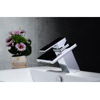 China 2014 new style bathroom taps stainless steel single handle bathroom basin faucet on sale