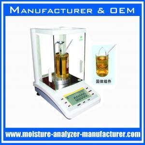 China OEM manufacturer density meter specific gravity balance instruments on sale