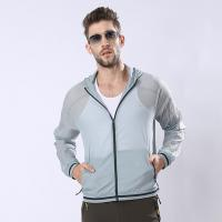 Quality Custom Man Sunproof Chinlon Skin Clothes for sale