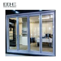 Quality Long Life Span Aluminium Folding Doors For Exterior Customized Extrusion Thickness for sale