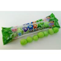 Quality Green Bubblegum Chewing Gum , Dora Multi Fruit Flavor Bar In Bags for sale