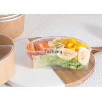 Quality Rigid Disposable Divided Plastic Plates 2 Parts Microwavable No Harsh Chemicals for sale
