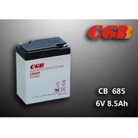 Quality 6V 8.5AH Gray AGM Sealed Lead Acid Battery CB685 For UPS / Medical Equipment for sale