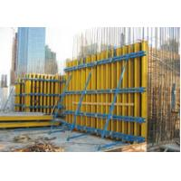Quality Yellow Film 44mpa Wbp Column Formwork Plywood For Skyscraper , Size 220*2440 for sale