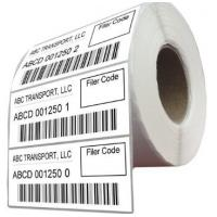 Quality Durable Logistic Labels Customized Size For Delivery / Shipping for sale