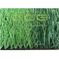 Quality Dark Green And Light Green PE Artificial Grass Football For School Sports Playground for sale