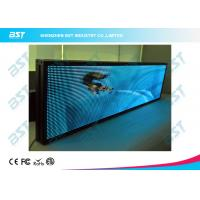 Quality P7.62 nice looking Full Color LED moving sign with Synchronous / Asynchronous Control for sale