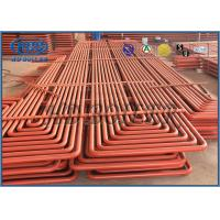 Quality Pendant Type Coils Boiler Superheater & Reheater With Claps Ovality And Thickness Both Less Than 15% for sale