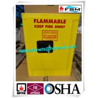Quality Metal Chemical Storage Cabinets , Dangerous Goods Cabinets For Flammable Liquid for sale