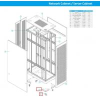 Buy cheap 9 Folder Channel Steel Cabinet Frame Rack To Make Network Cabinet / Rack Cabinet from wholesalers