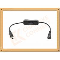 Quality 12V DC Male to Female Custom Cable Assembly With Switch On Off for sale