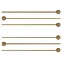 China Baking Addict Wholesale 6 Wood sticks with ball End Wooden Pop Sticks Lollipops on sale
