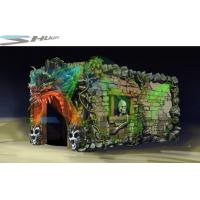Quality Dinosaur Cinema Box, Mobile 5D Motion Theater Movie Equipment For Theme Park for sale
