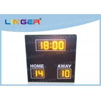 Quality 8 Digits Simple Function LED Football Scoreboard with Wire Controller for sale